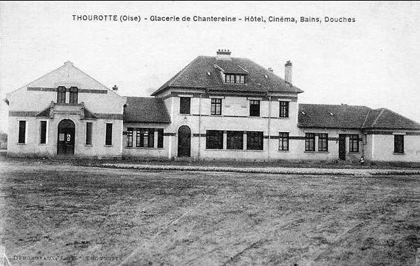 Album - Chantereine, la place Saint-gobain ( cinéma, hôtel, bains-douches)