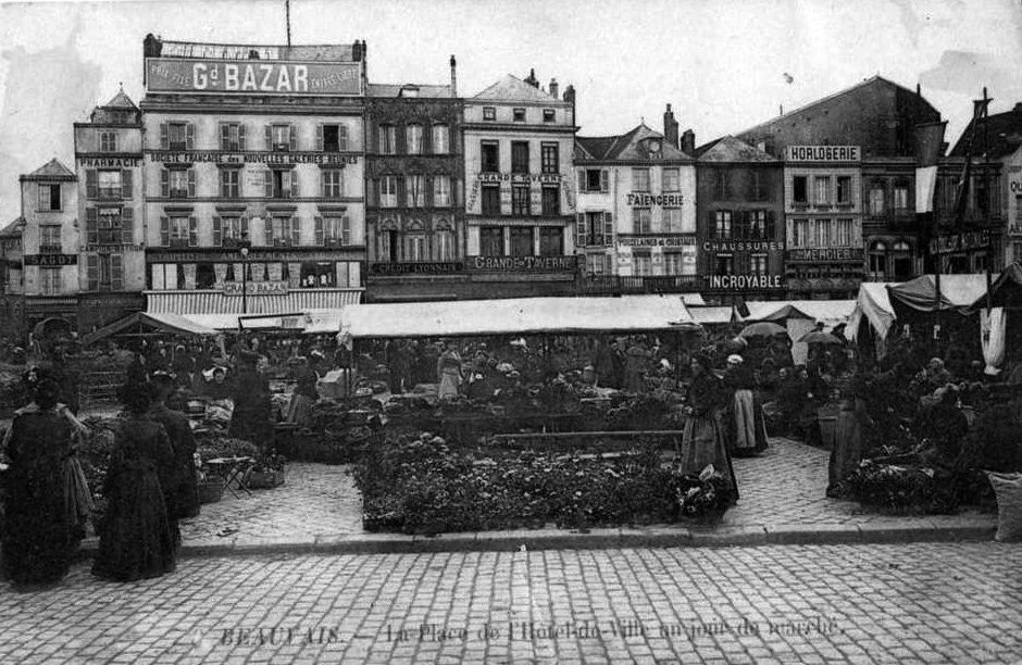 Album - la -ville de Beauvais (OIse), les places