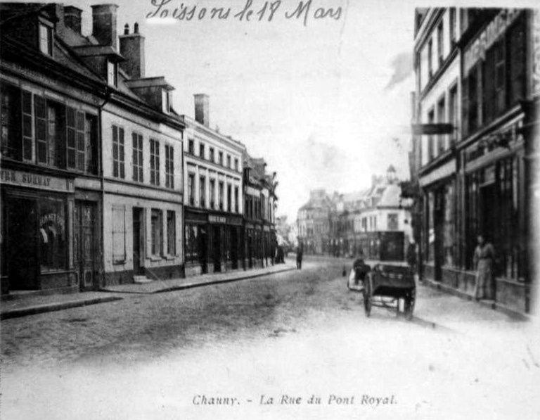 Album - la ville Chauny (Aisne), les rues, les avenues et faubourgs