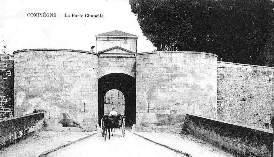 Album - la ville de Compiègne (Oise), la Tour Jeanne d'Arc,  la Porte Chapelle