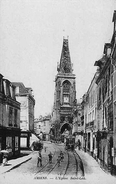 Album - la ville d'Amiens (Somme), le cirque, la Hotoie, quartier Saint-Leu