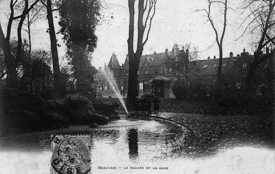 Album - la ville de Beauvais (Oise), la gare et les casernes