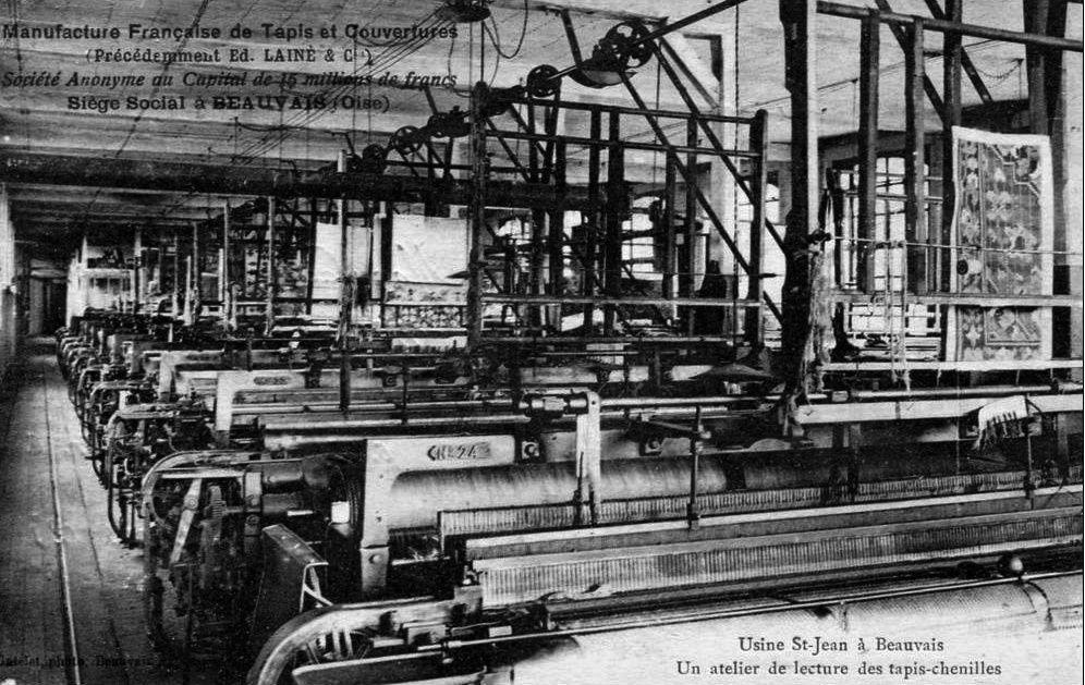 Album - la ville de Beauvais (Oise), les manufactures, la tapisserie et les métiers