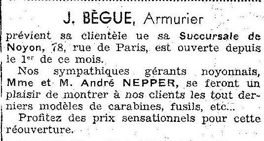 Album - la ville de Noyon (Oise), les commerçants commençant par la lettre A jusqu'a B