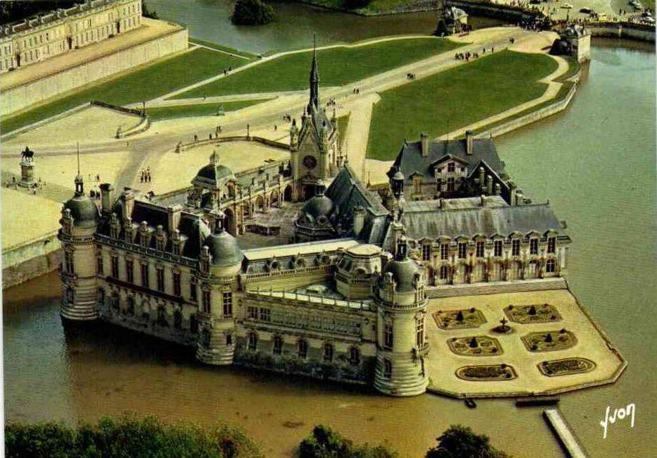 Album - la ville de Chantilly (OIse), le château