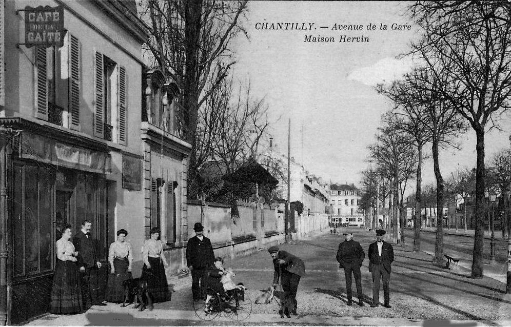 Album - la ville de Chantilly (Oise), les places et les rues