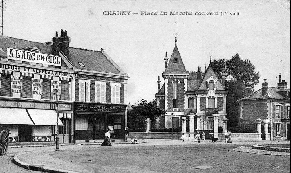 Album - la ville de Chauny (Aisne), les promenades, les places et squares
