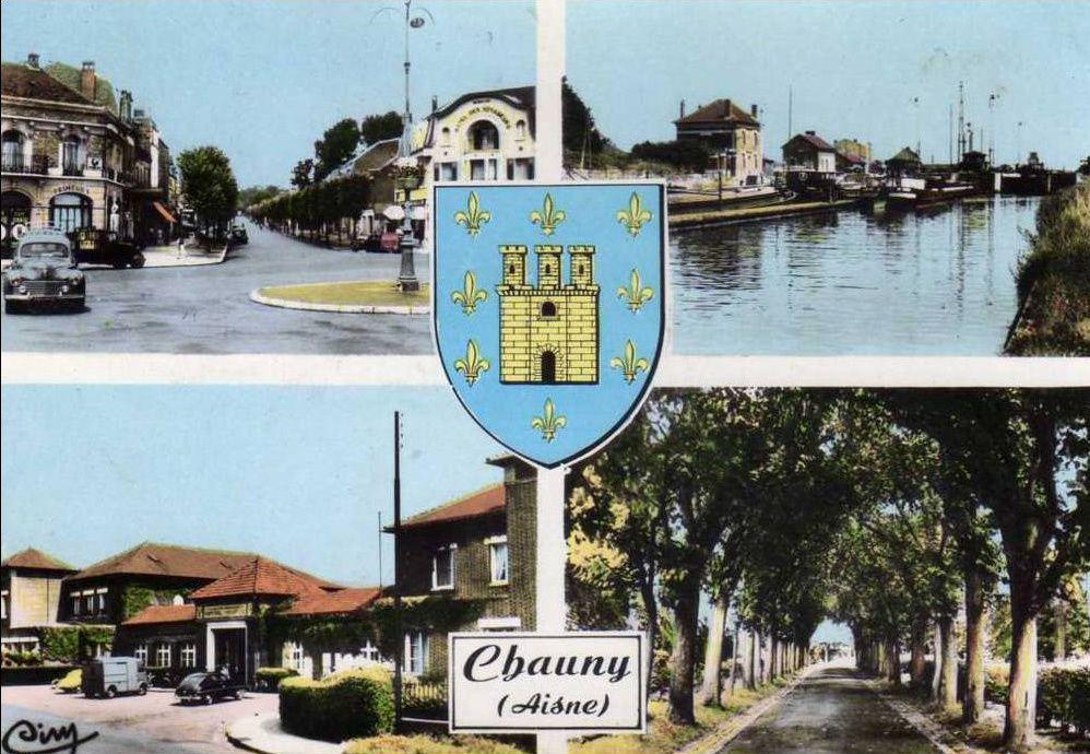 Album - la ville de Chauny (Aisne), 1889-1939 école primaire supérieure de garçons
