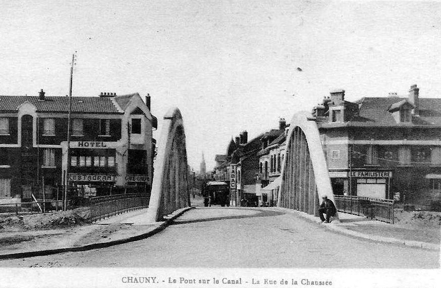Album - la ville de Chauny (Aisne), le port, les écluses