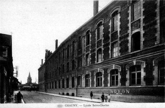 Album - la ville de Chauny (Aisne), les écoles et institutions