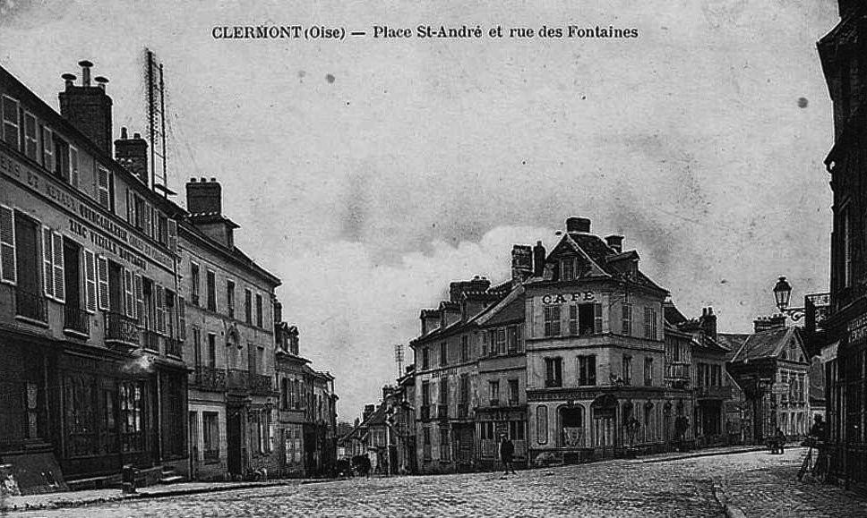 Album - la ville de Clermont (Oise), la gare, les rues et les places
