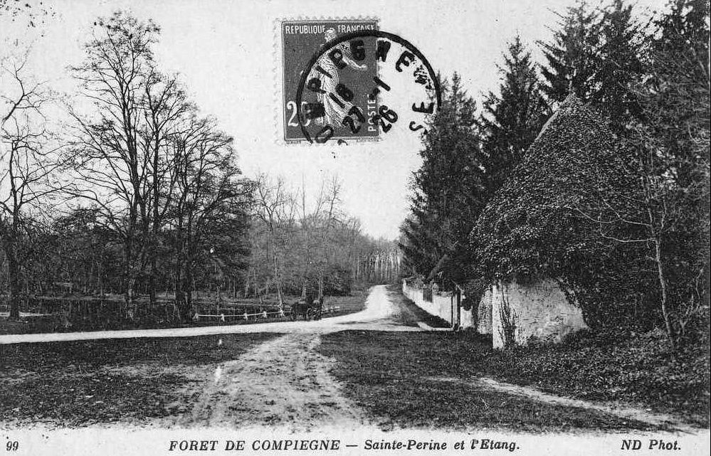 Album - la ville de Compiegne, (Oise), les étangs