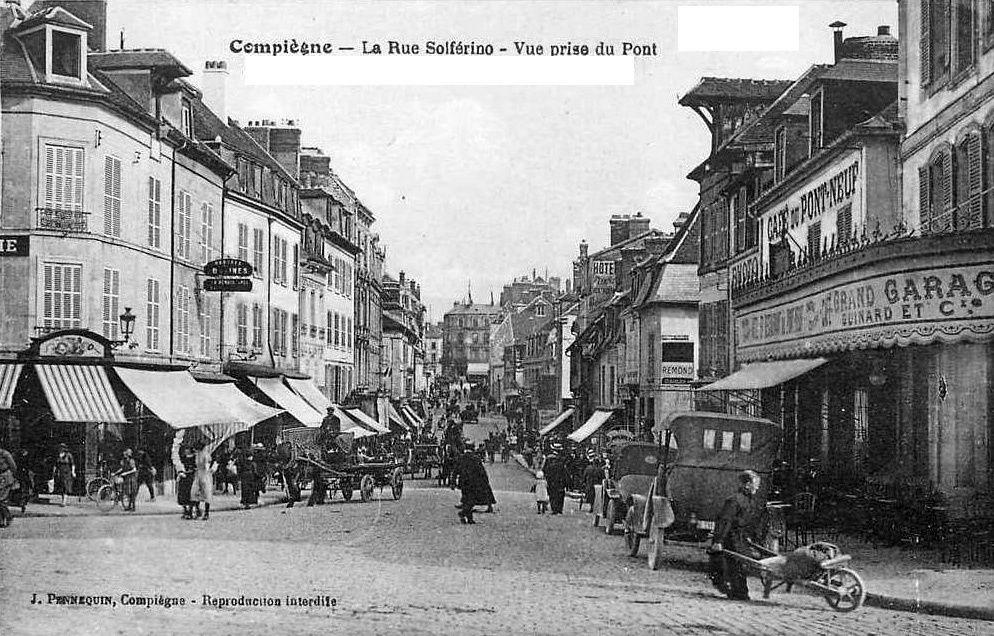 Album - la ville de Compiégne (Oise), la rue Solférino