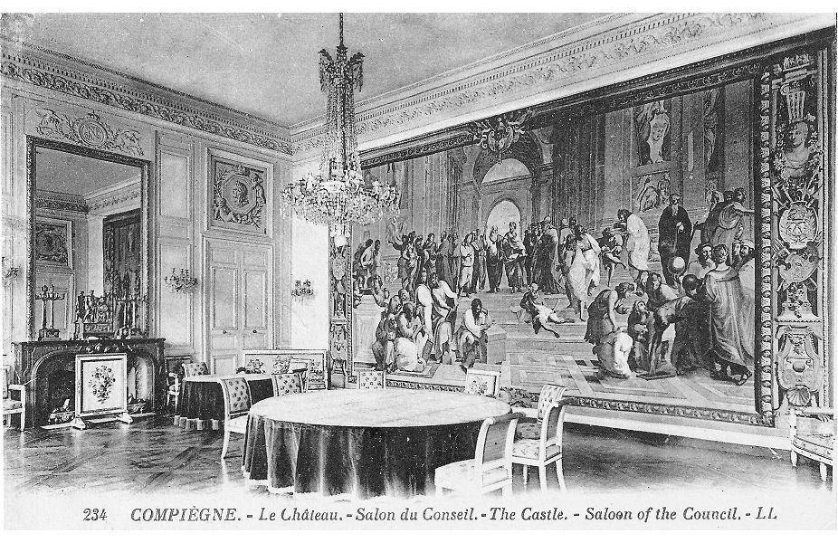 Album - la ville de Compiegne (Oise), le château et ses salons