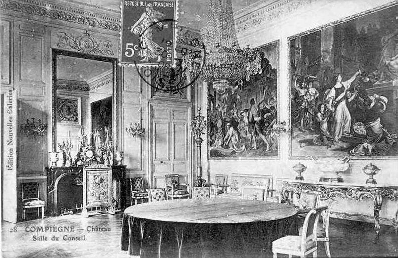Album - la ville de Compiégne (Oise), le château et ses salles