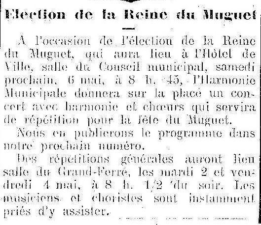 Album - la ville de Compiègne (Oise), la reine du Muguet et de la forêt