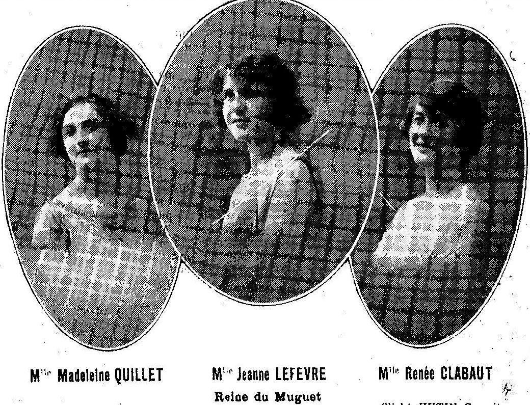 Album - la ville de Compiègne (Oise), la reine du Muguet