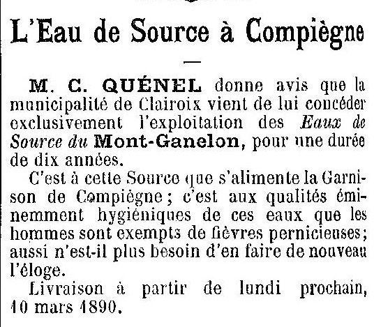 Album - la ville de Compiègne (Oise), au fil des mois au cours des années 1800 à 1936