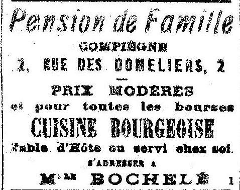 Album - la ville de Compiègne (Oise), au fil des mois, au cours des années 1930 à 1940