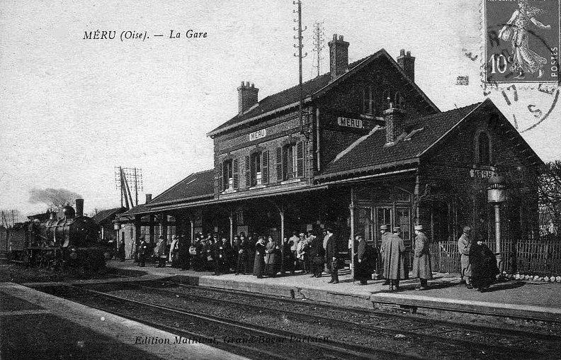 Album - la ville de Méru (Oise), la gare et les commerces