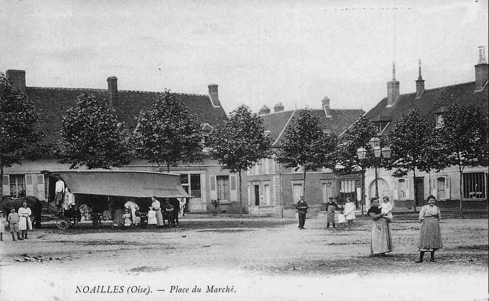 Album - la ville de Noailles (Oise), les rues et les places