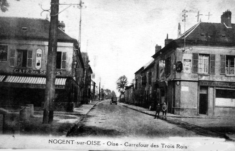 Album - la ville de Nogent-sur-Oise, les rues, les places