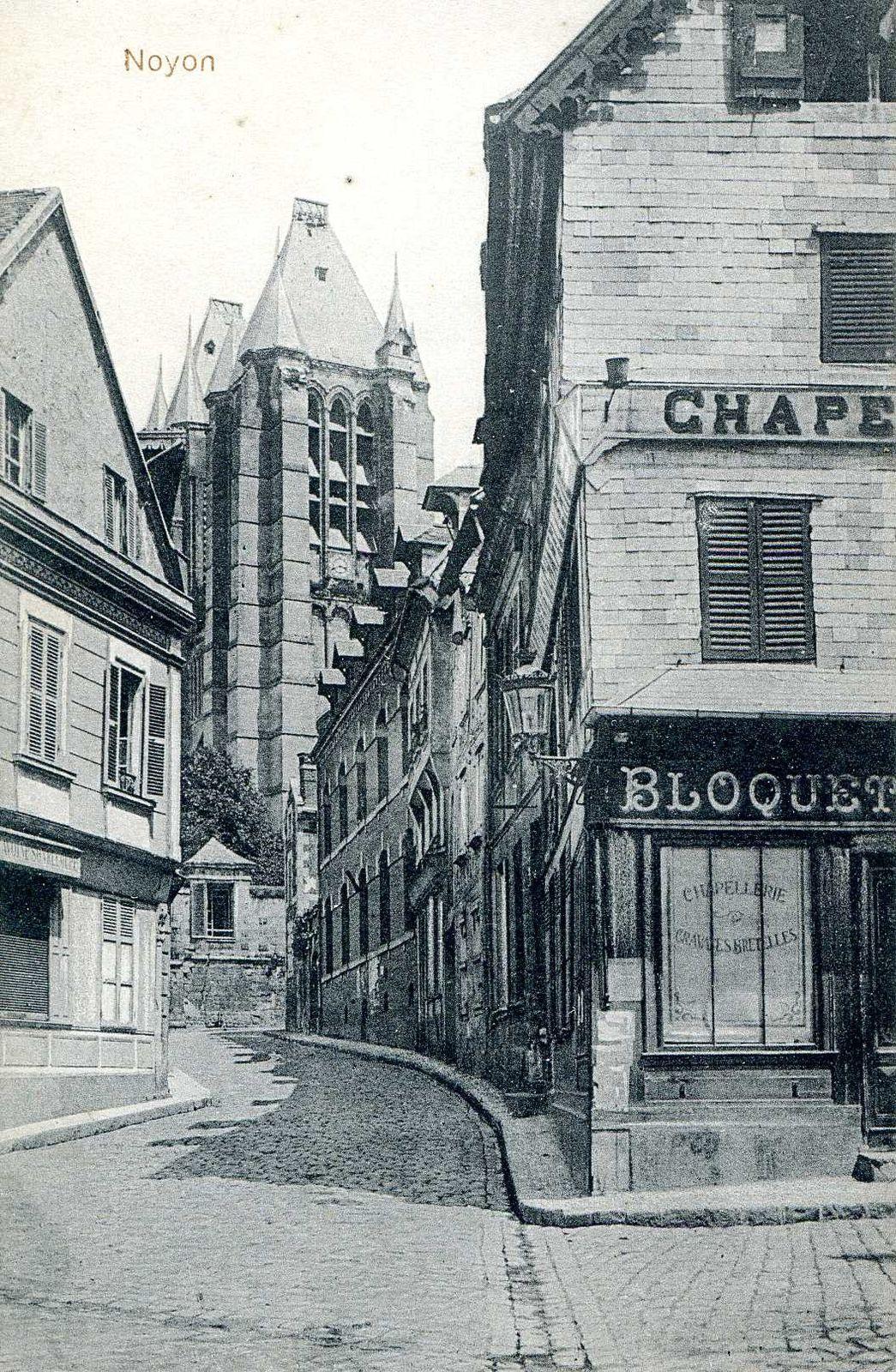 Album - la ville de Noyon (Oise), les rues de la ville.