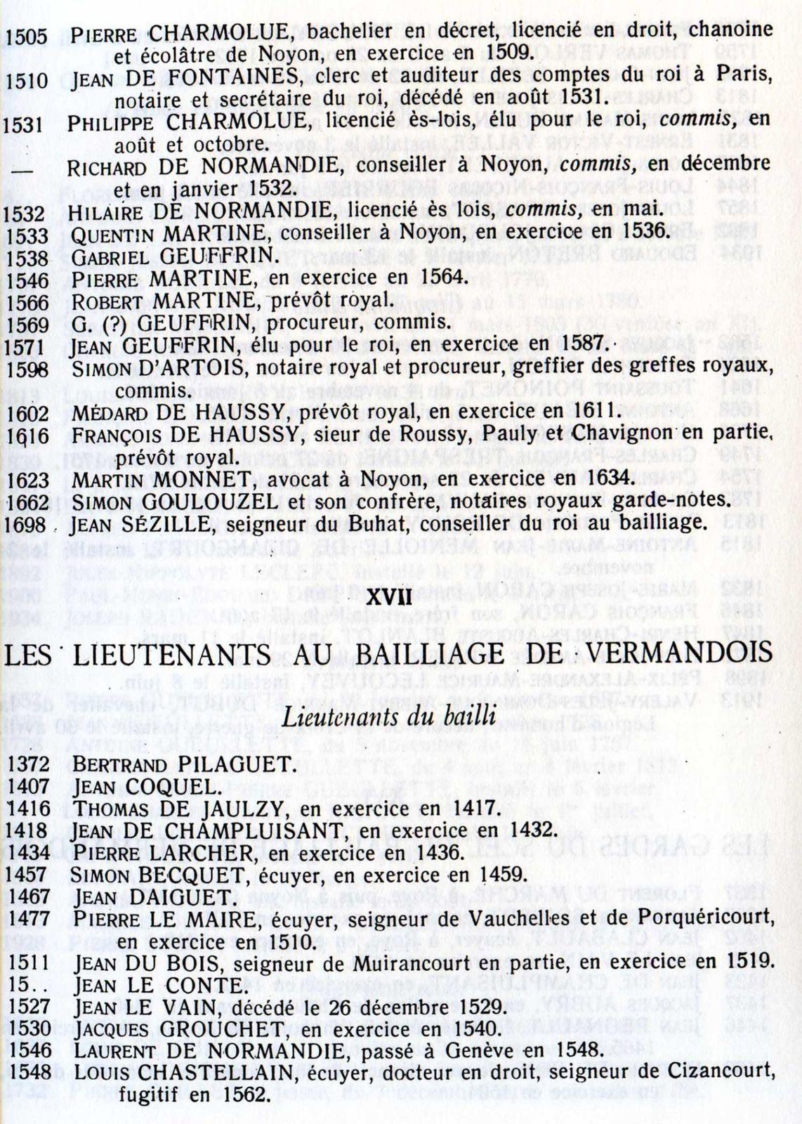 Album - la ville de Noyon (Oise), à travers l'Histoire