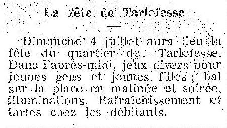 Album - le Hameau de Tarlefesse, la fête