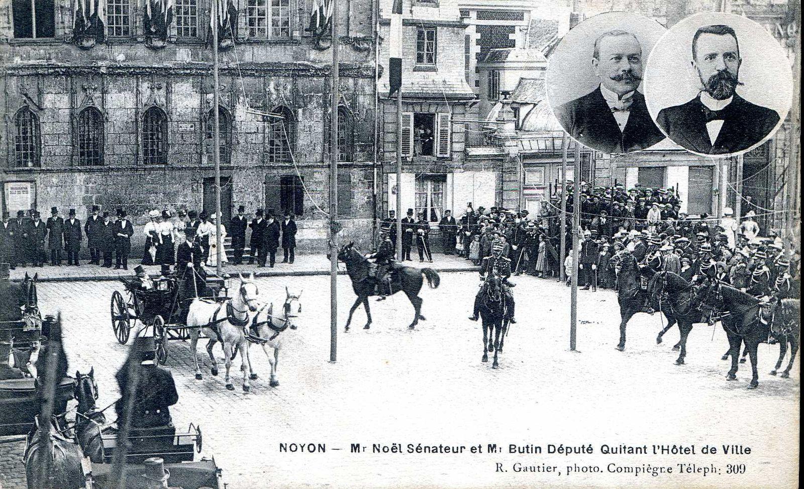 Album - la ville de Noyon (Oise), les fêtes et manifestations, différentes photos
