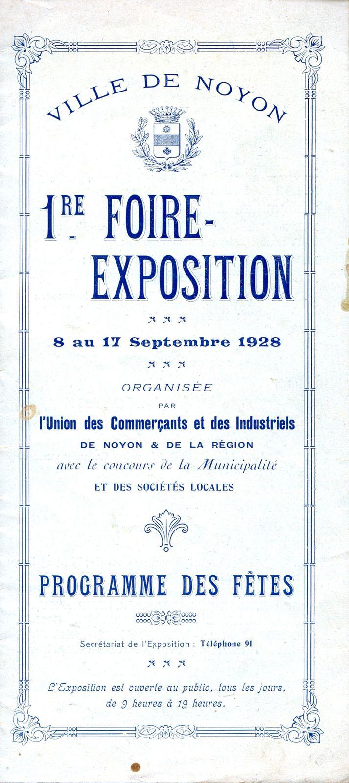 Album - la ville de Noyon (Oise) les fêtes et manifestations de 1926 à 1930