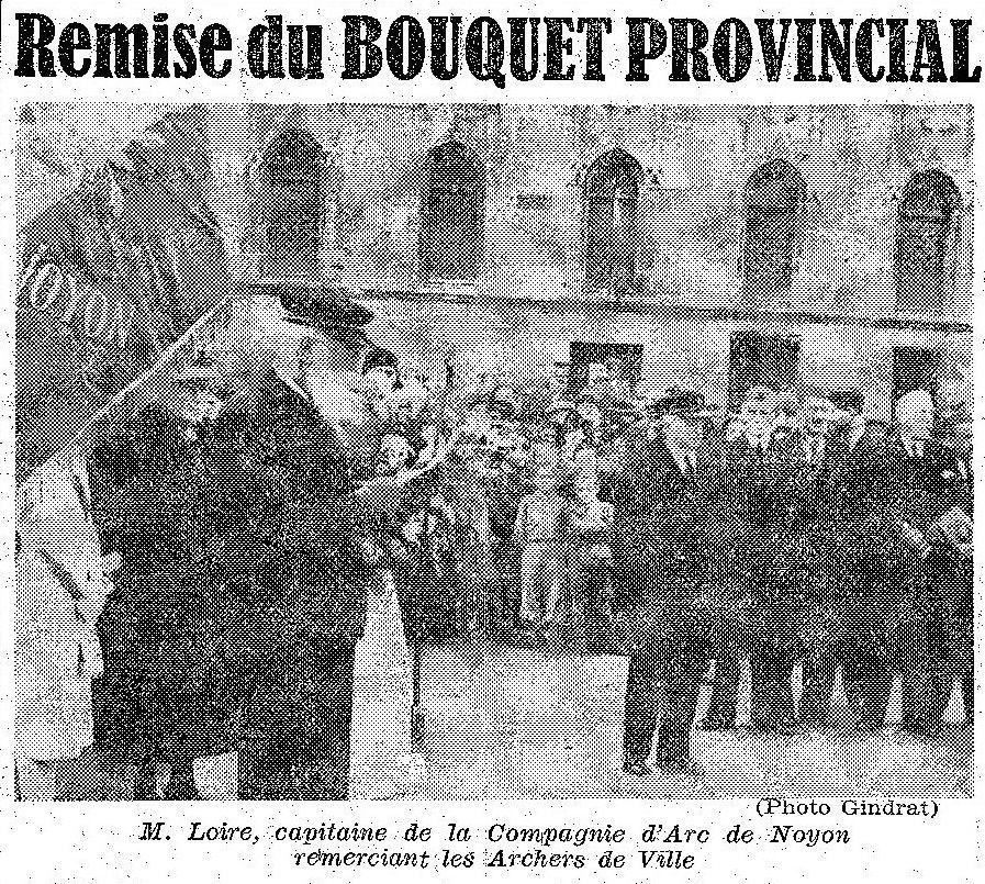 Album - la ville de Noyon (Oise), les fêtes et manifestations de 1936 à 1946