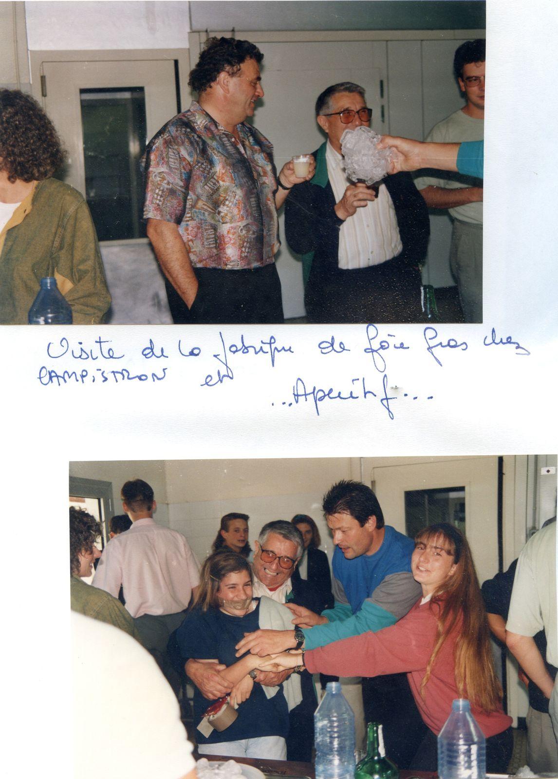 Album - la ville de Noyon (Oise), l'orchestre d'harmonie en concert à Pomarez ( Landes )