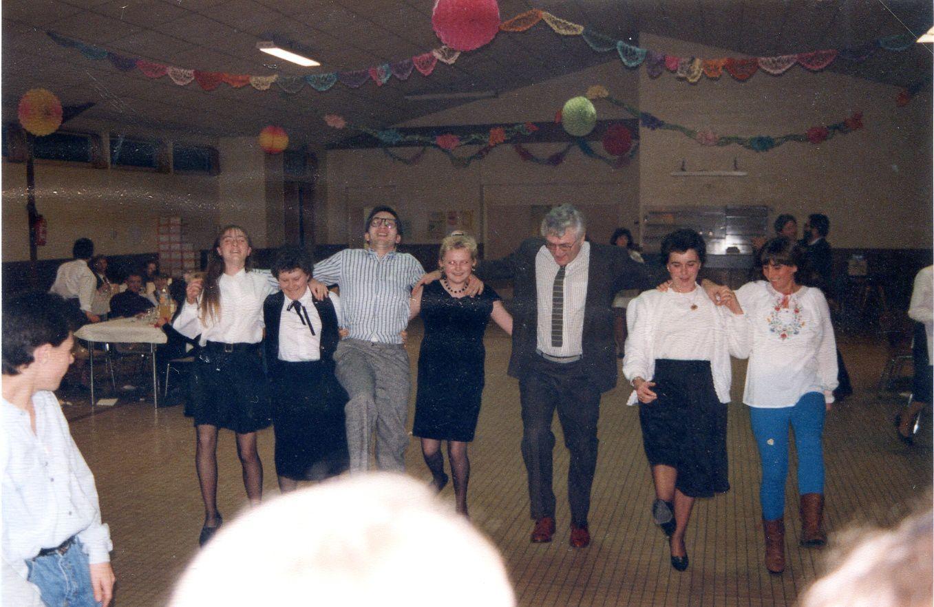 Album - la ville de Noyon (Oise), l'orchestre d'harmonie aux différentes manifestations de l'année 1990
