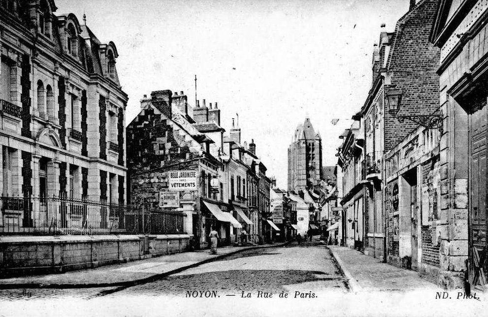 Album - la ville de Noyon (Oise), les rues de Paris