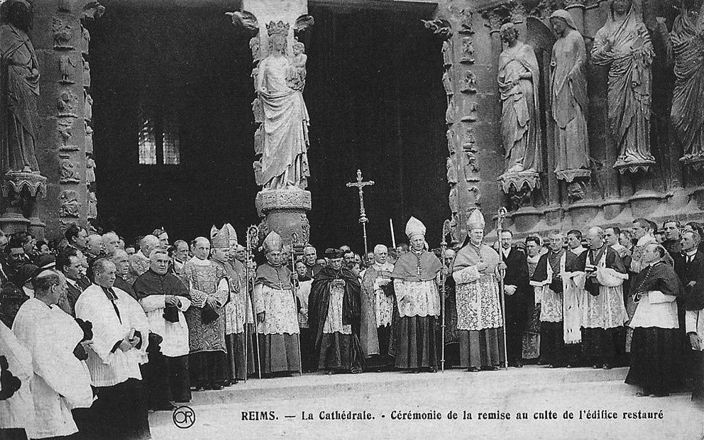 Album - la ville de Reims (Marne), la cathédrale