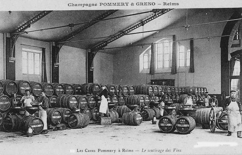 Album - la ville de Reims (Marne) la culture du Champagne