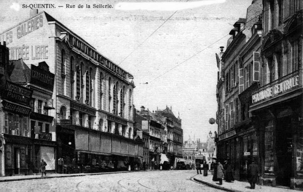 Album - la ville de Saint-Quentin (Aisne), les rues
