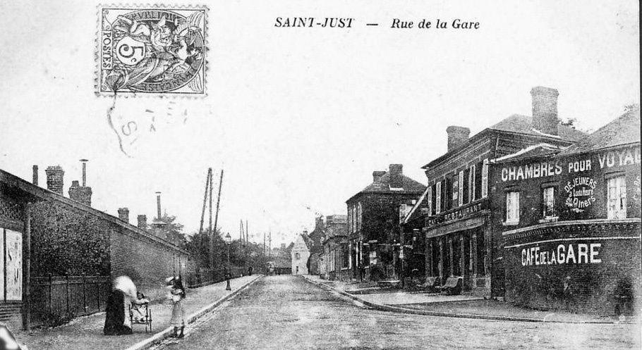 Album - la ville de Saint-Just-en-Chaussée (Oise), les rues et les places