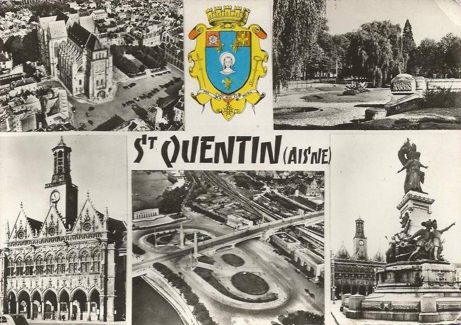 Album - la ville de Saint-Quentin (Aisne), la gare