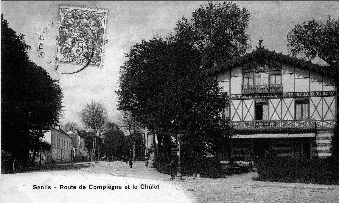 Album - la ville de Senlis (Oise), les rues et portes