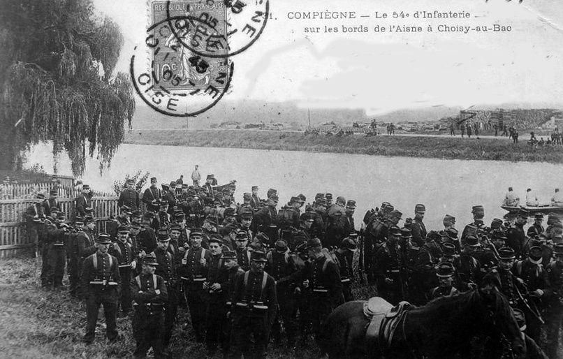 Album - la ville de Compiègne (Oise), les casernes, l'infanterie