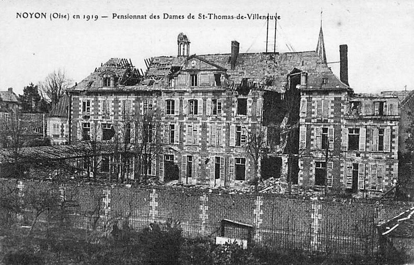 Album - la ville de Noyon (Oise), le pensionnat notre Dame