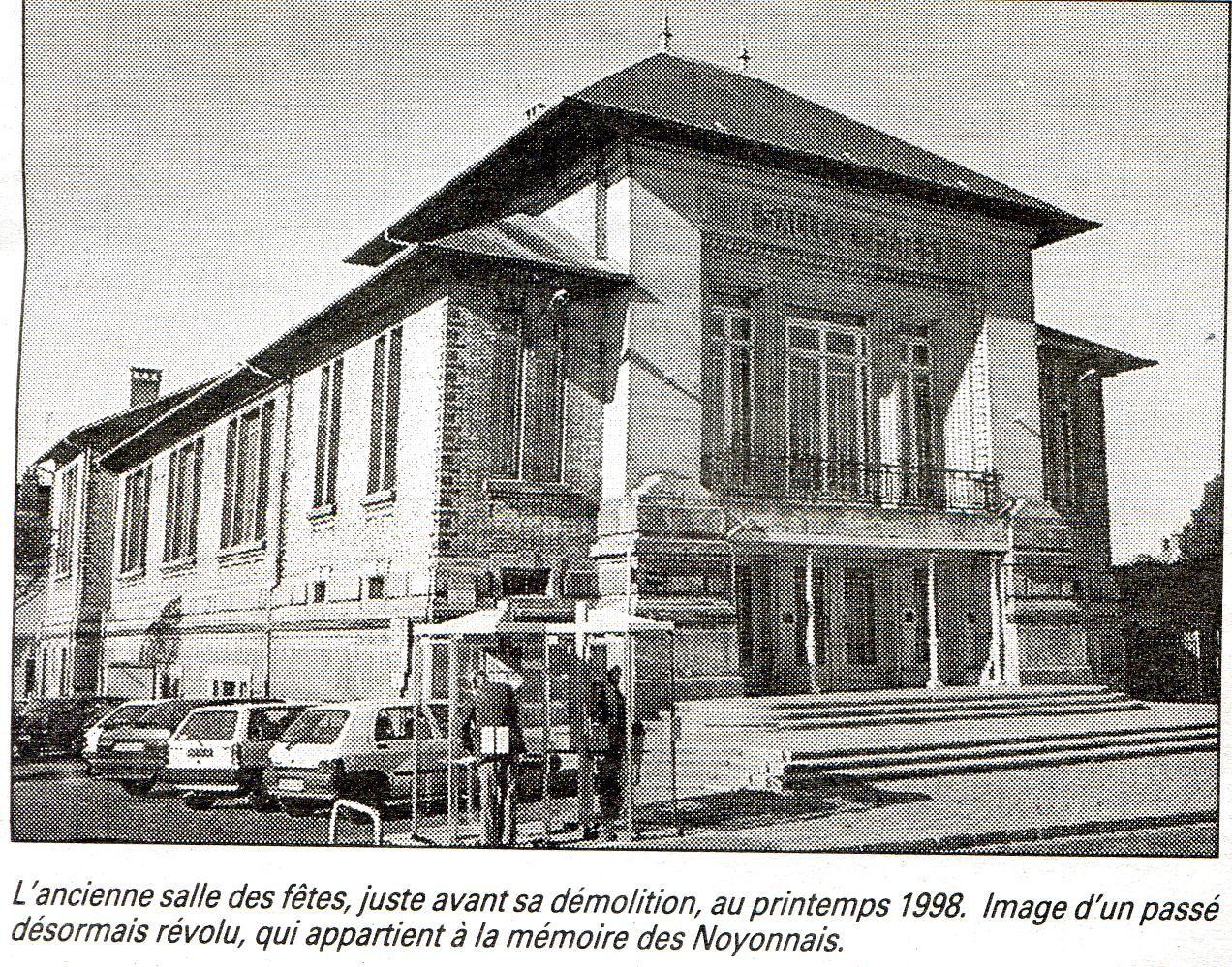 Album - la ville de Noyon (Oise), les salles des fêtes