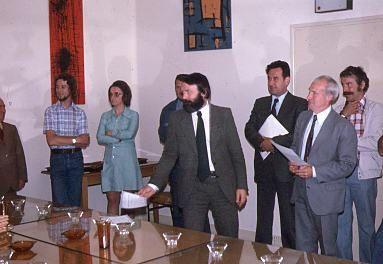 Album - groupe Saint-Gobain, le C.P.R.O (centre de formation), les examens, juin 1975, juillet 1976