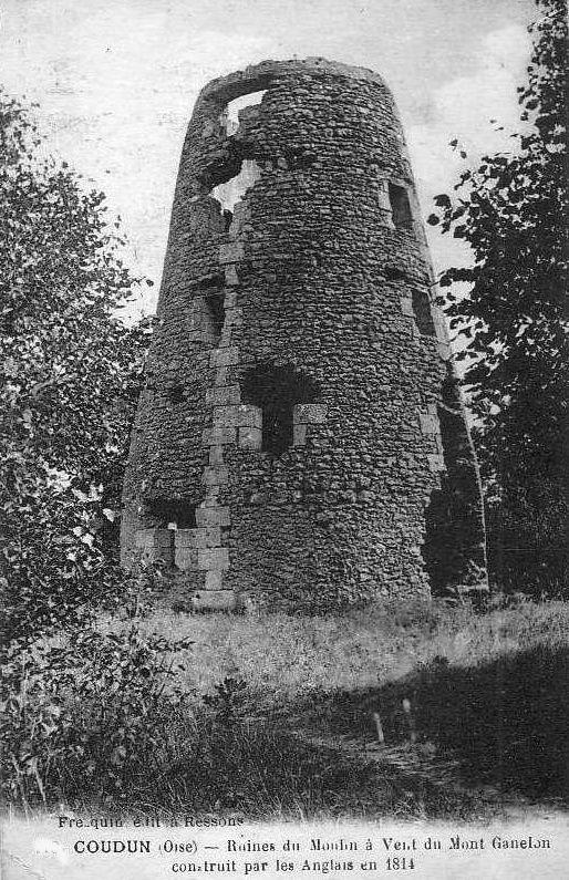 Album - le Mont Ganelon (Oise), son Histoire