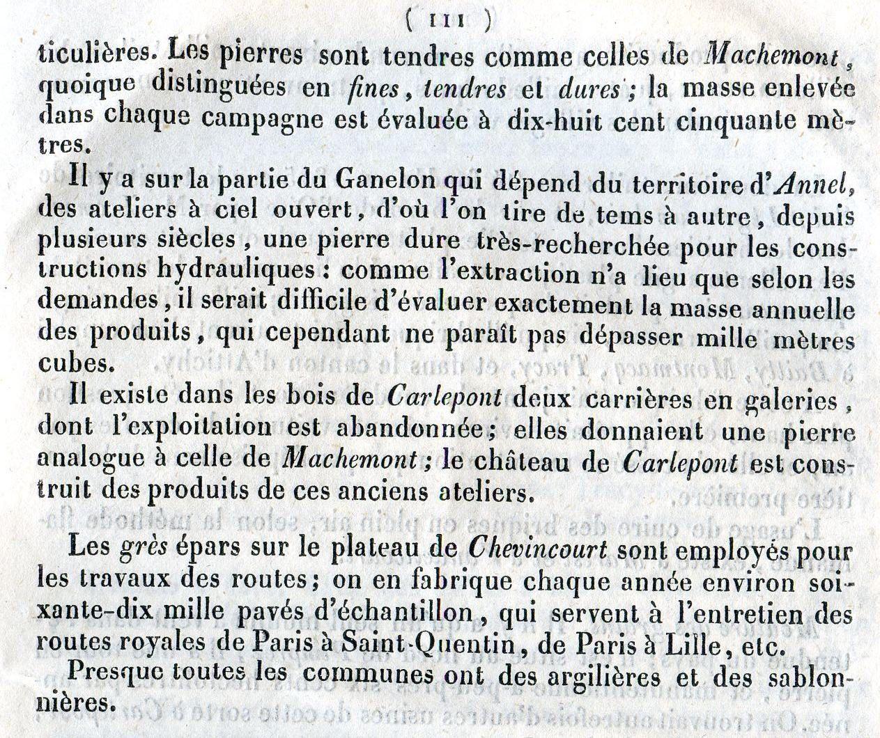 Album - le canton de Ribecourt (Oise), sa situation en 1839, (2éme partie)