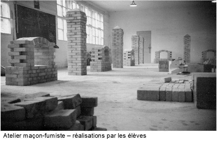 Album - centre Progobain, les ateliers et salles de cours
