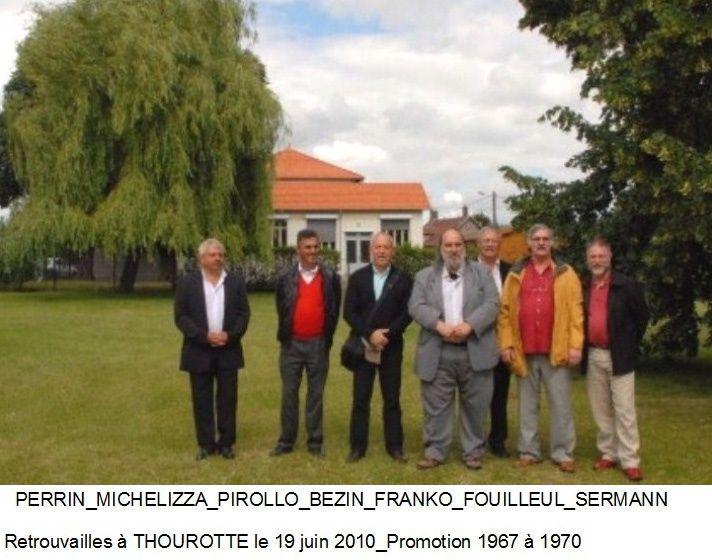 Album - centre Progobain, réunion des anciens élèves en mai et juin 2010 à Thourotte (Oise)