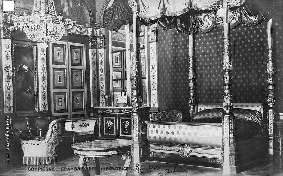 Album - la ville de Compiégne (Oise), le château et ses chambres